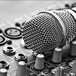 blackandwhite music microphone freetoedit
