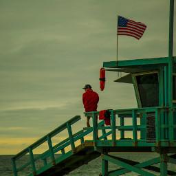 baywatch beach watch lifeguard flag