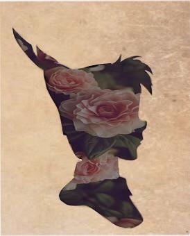 🍂To die, would be an awfully big adventure🍂  Instagram - deerantlers  #interesting #art #peterpan #disney #disneyedit #wendy #pan #vintage #roses #flowers #nature