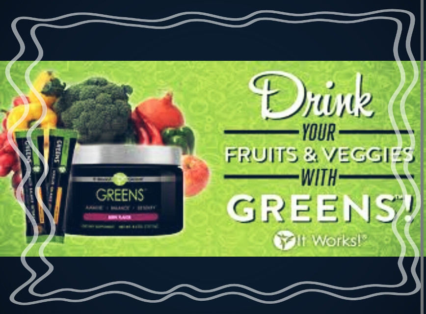 if you can't eat your daily dose of veggies and fruits ask me about drinking them instead! #Delavegawraps #Itworksgreens