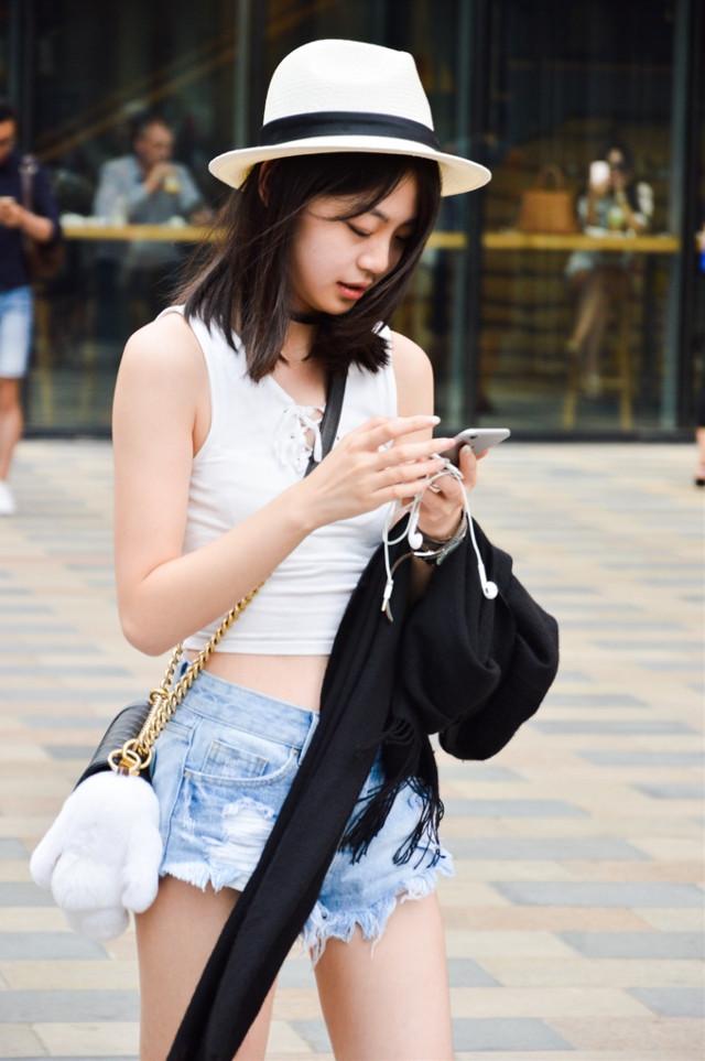 #girl #beautiful #fashion #july #summer #beijing #taikooli