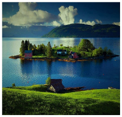 hordaland noruega portrait paradaise