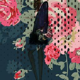 freetoedit sketch floralprint floralpattern drawing