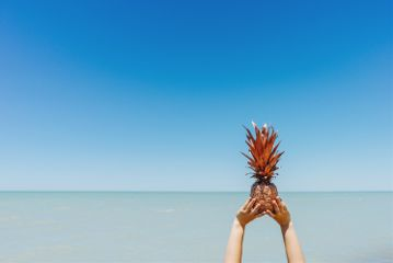 freetoedit nature hands pineapple summer