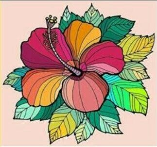 #zentangle,#flower,#colorful,#photography